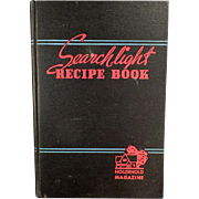 Vintage Household Searchlight Recipe Book - 1944 - 17th Edition