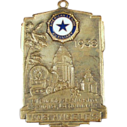 Vintage Watch Fob - 1938 American Legion Auxiliary