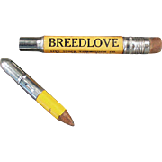 "Vintage, ""Breedlove"" Advertising Bullet Pencil"