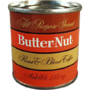 Vintage, Butter-Nut Coffee, Sample Tin - Coca-Cola Company Product
