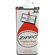 Vintage, Zippo Lighter Fuel Tin - 1960's