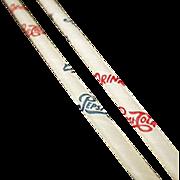 Vintage, Pepsi Advertising, Six Paper Straws