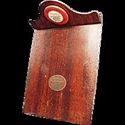 Vintage Clip Board with  Arcadia Farms Advertising