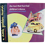 Vintage Golden Record - The Taxi That Hurried / Children's Dance