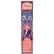 Vintage, George Washington - Leader Sparklers Box