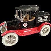 1988 Texaco #5, Ford Runabout, Bank - Ertl Die Cast