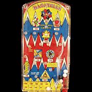 Vintage, Marx Bagatelle Marble Game