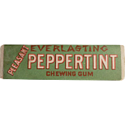 Vintage Chewing Gum Stick - Everlasting Peppertint