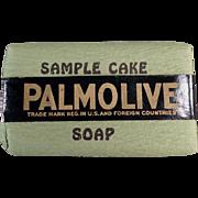 Vintage Soap Sample -  Palmolive Soap, Sample Bar
