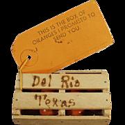 Vintage, Promotional Mailer - Texas Orange Crate