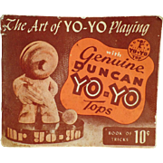 Vintage Yo-Yo Booklet  - The Art of Yo-Yo Playing - 1950
