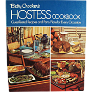 Vintage, Betty Crocker, Hostess Cook Book - 1970's