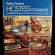 Vintage, Betty Crocker, Hostess Cook Book - 1970's