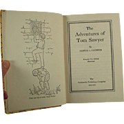 Vintage, Tom Sawyer Book by Samuel Clemens