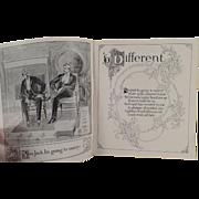 Vintage Booklet - Poetic Love Story - Garland Stove Advertising - 1893