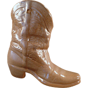 Vintage Frankoma - Wall Pocket Boot Vase