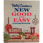 Vintage, Betty Crocker's New Good & Easy Cookbook - 1962