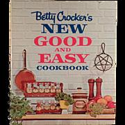 Vintage, Betty Crocker's New Good & Easy Cookbook - 1962