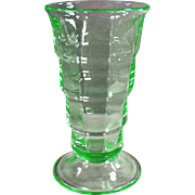 Vintage, Paden City Malt Glass - Depression Green