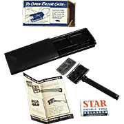 Vintage, Star Safety Razor with Original Case and Box