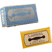 Vintage Replacement, Safety Razor Blades for The Laurel