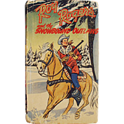 Vintage, Better Little Book featuring Roy Rogers and the Snowbound Outlaws