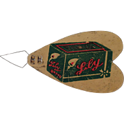 Vintage Needle Threader - Advertising Lily Brand