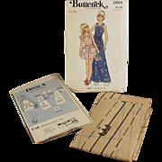 Vintage Butterick #3691 Pattern - Little Girls Pinafore Style Dress - Vintage, Size 14