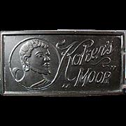 Vintage, Koken's Moor Sharpening Stone for Old Razor Blades