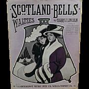 Vintage Sheet Music - Scotland Bells - Waltzes