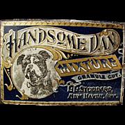 Vintage Tobacco Tin -  L.L. Stoddard Handsome Dan