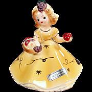 Vintage Josef Original Figurine - November Harvest