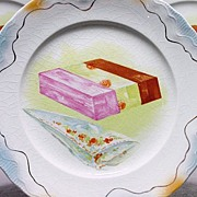 Two Super Duper Ice Cream Sets - 1 Platter and 5 Plates per Set