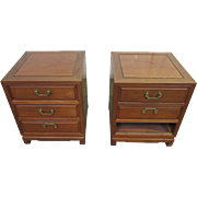 Solid wood end tables or night stands