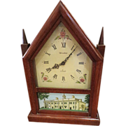 Herschede wooden mantel clock
