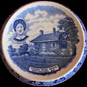 Staffordshire  Jennie Wade House Trivet