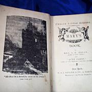 "SALE Mary's Book ""Twelve Little Sisters"" 1885"