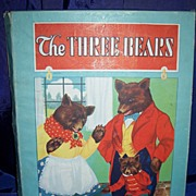 "SALE ""The Three Bears"" Whitman's children's Book in Original Box circa 1927"