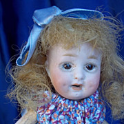 """SALE 7"""" Composition Body, bisque Head Small Doll"""
