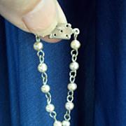 SALE 1950's necklace for dolls such as Cissette