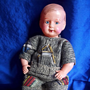 "SALE 8"" Celluloid Baby Doll"