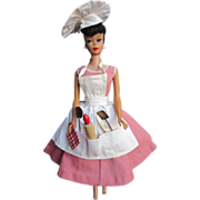 """SOLD Vintage 60's Barbie Outfit """"Barbie-Q"""""""