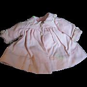 SALE Factory Vintage Coat for Medium DyDee Baby or Tiny Tears