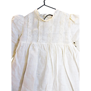 Very Old Doll Dress Suitable for German or French Doll
