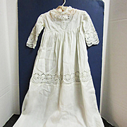 1910 Exquisite Christening Dress