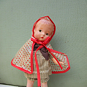 Effanbee Patsyette in vintage clothes