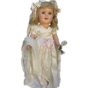 Composition 1940s Bride Doll