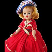 Vogue Blonde Jill in Tagged Dress
