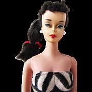 Number four vintage Brunette Barbie