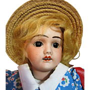 SOLD 1920's  French Bleuette Size Girl